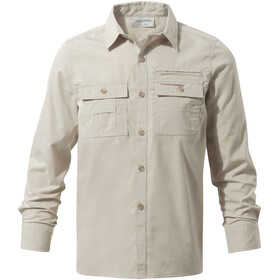 Craghoppers NosiDefence Adventure Trek Long Sleeved Shirt Boys Oatmeal